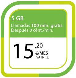 LA CIENTO 5GB