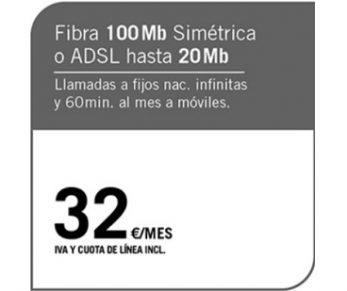 FIBRA 100MB/ADSL 20MB