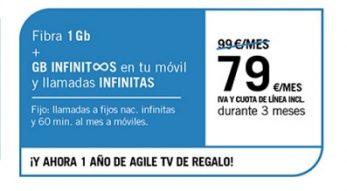 FIBRA 1GB + SINFÍN ∞