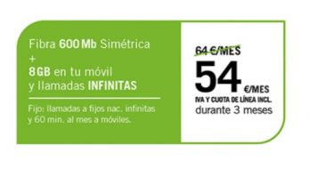 FIBRA 600GB + SINFÍN 8GB