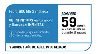 FIBRA 600MB + SINFÍN ∞