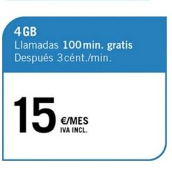 LA PREPAGO 4 GB