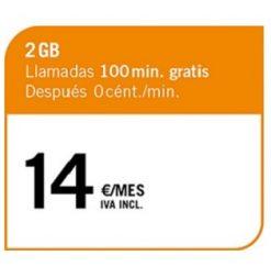 LA CIENTO 2 GB