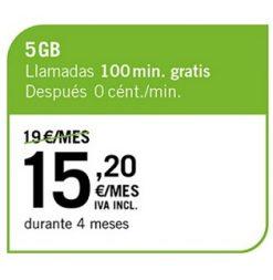 LA CIENTO 5 GB