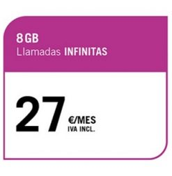 LA SINFÍN 8 GB